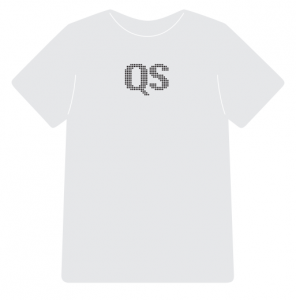 Quantified Self t-shirt (front)