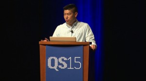 Victor Lee at Quantified Self Conference 2015, San Francisco, CA