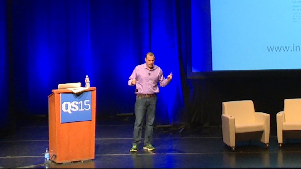 Gil Blander shares his story of Inside Tracker at QS15